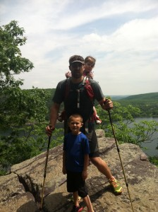 bryan and kids devils lake