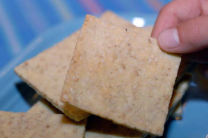 Grainless Crackers