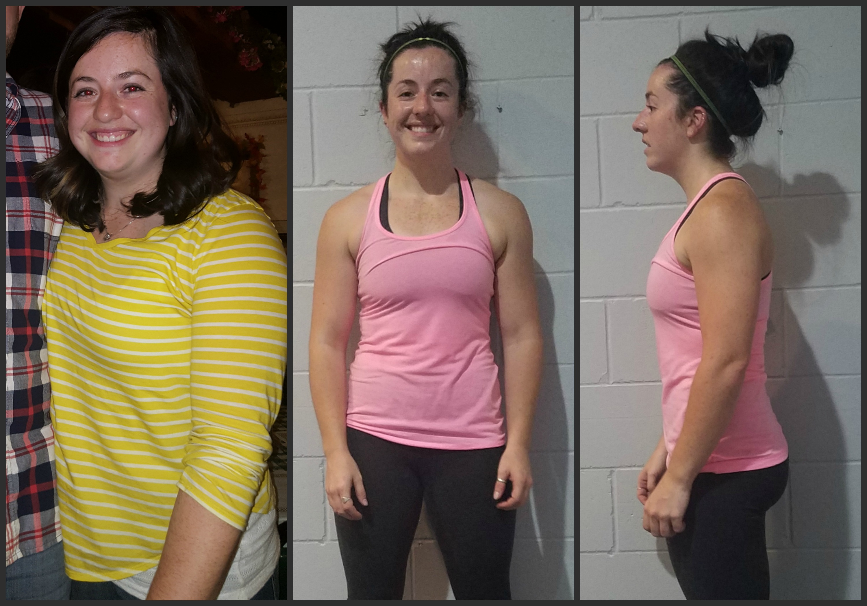 "She ""only"" lost a little over 1 pound per week…"